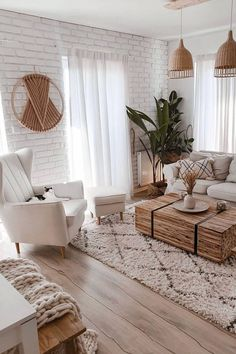 Home Interior Decoration .Home Interior Decoration Boho Living Room, Living Room Modern, Home And Living, Living Room Designs, Living Room Decor, Cozy Living, Beige Living Rooms, Nordic Living, Bohemian Living