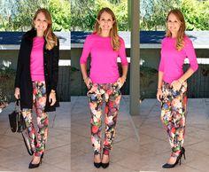 J.Crew floral pants