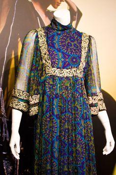 THEA PORTER 70s Bohemian Chic exhibition Fashion Textile Museum London
