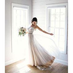 Ethereal in @willowbywatters Penelope dress! Photo by @kmarcelo. #Watters #Willowby #weddingdress #bridal #weddinginspiration #engaged #bridaldesigner #bridalgown #weddinggown #weddingdress #weddinginspiration #instalove #instafashion #love #bridalstyle #