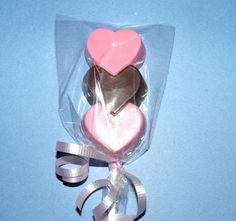 cute chocolate lollipops