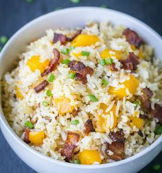 Bacon Mango Fried Rice | 18 Mouthwatering Ways To Eat Mango This Summer