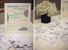 Guest book - Jigsaw Puzzle