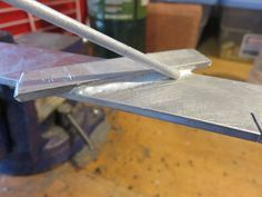 Picture of Brazing aluminum.