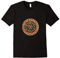 Buddha T-Shirt Buddhist Gift Om Mani Padme Hum Buddhism Tee
