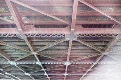 Steel bridge from below  free high-resolution photo about Other abstract architecture background beams below black box bridge bridges building city construction dark design modern pattern perspective plate road steel structure technology Under water white