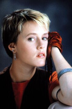 Mary Stuart Masterson. From the movie Some Kind of Wonderful. Still love this movie and her!
