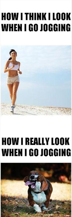 jogging funny