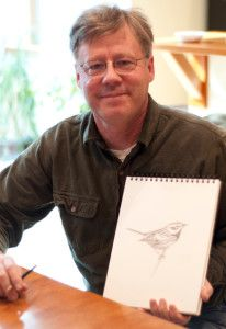 """David Sibley, artist and author of the renowned, """"The Sibley Guide to Birds"""", will be the featured keynote speaker during the 21st Annual Godwit Days Spring Migration Bird Festival, April 13-19, 2016 in Humboldt County, CA. www.godwitdays.org #DavidSibley #birdlovers #HumboldtCounty"""