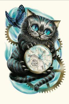 Ideas Disney Art Ideas Draw Alice In Wonderland Cheshire Cat Wallpaper, Cheshire Cat Drawing, Cheshire Cat Tattoo, Tattoo Cat, Hp Tattoo, Cat Tattoos, Ankle Tattoos, Arrow Tattoos, Friend Tattoos