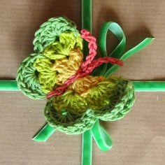 crochet butterflies pattern on Planet Penny
