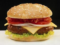 500 1188929340 hamburger ca Juicy Beef Burger Recipe