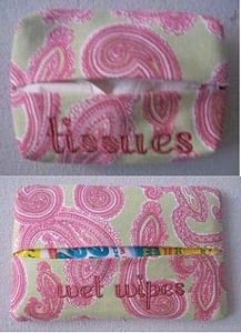 In-the-Hoop Tissue Cover Machine Embroidery