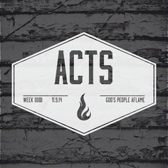 sermon series the book of acts the church aflame the church ignited boone north Carolina appstate  Sermon Series Churches Church Boone North Carolina Graphic Design Logos typography