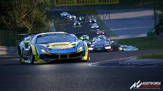 Assetto Corsa Competizione Ferrari 488, Gt Cars, Race Cars, Racing Simulator, Porsche, Wallpapers, Space, Games, Cars