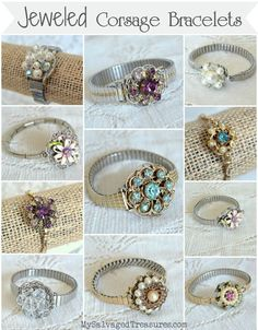 My Salvaged Treasures: My Jewelry Creations                                                                                                                                                     More