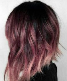 Hair Colors Winter 2019 Cuts And Colors In Photos - Mermaid hair Winter Hairstyles, Pretty Hairstyles, Hairstyle Ideas, Casual Hairstyles, Medium Hairstyles, Latest Hairstyles, Curly Hairstyles, Celebrity Hairstyles, Wedding Hairstyles