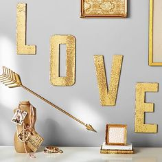 Love Sequin Letters, easy do it myself