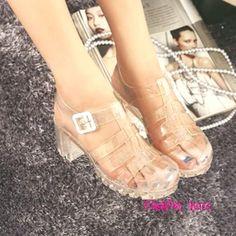 42 Best plastic sandals images  b195cb467c7b