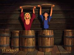 the Road to El Dorado- Still need to see this.