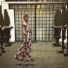 Vestido floral , vestido estampado, vestido de festa, vestido sereia, casamento de dia, My Closett, aluguel entre amigas