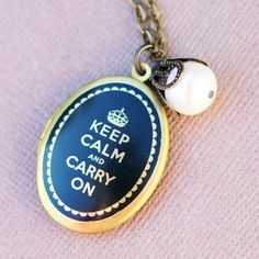 Good advice for marriage- on a locket!