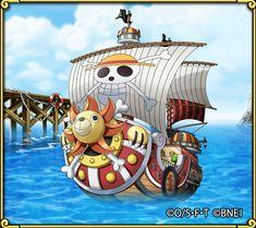 Sabo One Piece, One Piece Ship, One Piece Luffy, One Piece Anime, One Piece Japan, Blackbeard One Piece, Sunny Go, Brooks One Piece, One Piece Tattoos