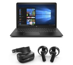 HP Pavilion Power Gaming Laptop   Explorer Mixed Reality Headset    Controllers Bundle on sale in the UK along with best prices on many other  computing ... d67c6ba642