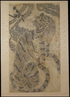 Tiger and Magpie; Hochakdo (Painting) | V&A Search the Collections