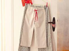 Pyjama Hose selber nähen