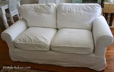 How To Restuff Ikea Ektorp Sofa Cushions Cheap, Easy and Quick Ikea Ektorp, Ektorp Sofa, Ikea Sofa, Murphy Bed Couch, White Cushion Covers, Cushion Inserts, Sofa Back Cushions, Armchair Bed, Upcycle