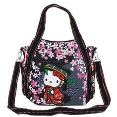 Hello Kitty 2way Mini Shoulder Bag Lunch Tote Bag Sanrio Free Shipping new 5…