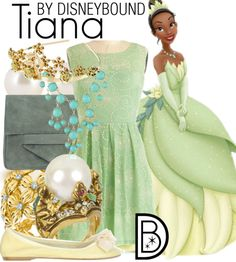 Tiana - The Proncess and the Frog