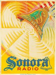 Image result for vintage poster radio  posters