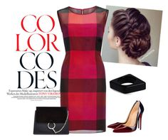 """""""Chic in red"""" by isabelle-talbot on Polyvore featuring mode, Gina Bacconi, Christian Louboutin, Marni et Chloé"""