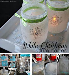 Christmas+Mason+Jar+Luminaries+