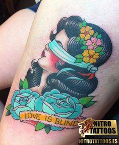 tatuajes de caras de mujeres