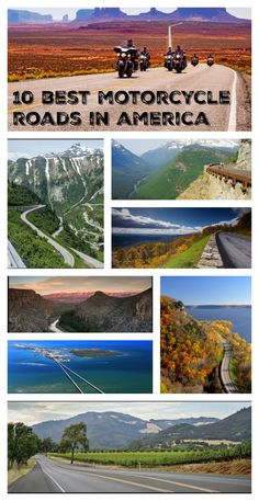 10 Best Motorcycle Roads in America The 10 best motorcycle roads in America. The post 10 Best Motorcycle Roads in America appeared first on Motorrad. Motorcycle Camping, Motorcycle Touring, Camping Gear, Motorcycle Adventure, Girl Motorcycle, Motorcycle Quotes, Motorcycle Cover, Classic Motorcycle, Motorcycle Helmets