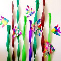 Coffee Filter Rainbow Fish (Kids Craft) - Crafty Morning