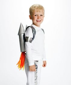 24 Great DIY Kids Halloween Costumes Ideas - Rocket Man, add Elton John...it'll be epic!