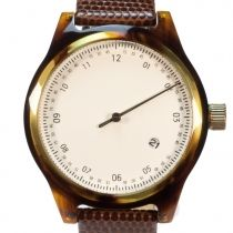 Minuteman One Hand (tortoise) watch