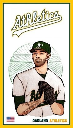 Oakland Athletics, Mlb, Athlete, Baseball Cards, Sports, Hs Sports, Sport