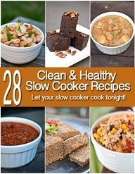 Slow cooker season is upon us. Even if its still hot outside, nothing beats a healthy dinner that cooks itself! (Or even dessert for that matter!) Enjoy these recipes and more at www.TheGraciousPa...