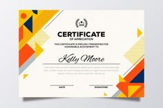 Certificate Of Achievement Template, Certificate Design Template, Certificate Background, Certificate Frames, Award Template, Flyer Template, Birthday Certificate, Note Doodles, Student Resume Template
