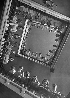 Alfred Eisenstaedt - Nurses at Roosevelt Hospital, New York City, 1937