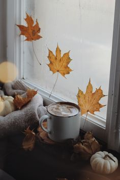 Autumn Coffee, Painting, Instagram, Art, Art Background, Painting Art, Kunst, Paintings, Performing Arts
