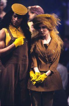 "1991 - Jean Paul Gaultier show ""1+1=1"""