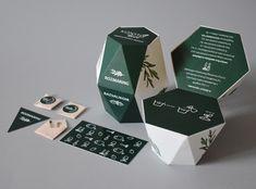 KonyhaKert on Packaging of the World - Creative Package Design Gallery Brochure Design, Branding Design, Identity Branding, Corporate Design, Visual Identity, Tea Packaging, Packaging Design Tea, Innovative Packaging, Cardboard Packaging