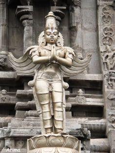 Lord Garuda At Srivilliputur Temple, Tamil Nadu, India