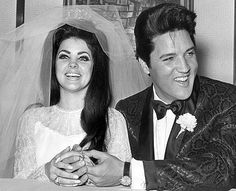 #Elvis and #Priscilla - #wedding